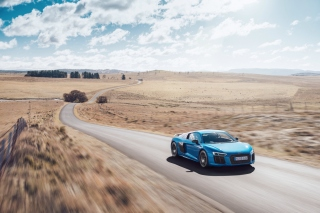 Audi R8 V10 Plus Picture for Android, iPhone and iPad