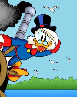 DuckTales, richest duck Scrooge McDuck Picture for Nokia C2-03