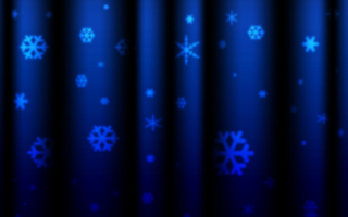 Free Blue Snowflakes Picture for Android, iPhone and iPad