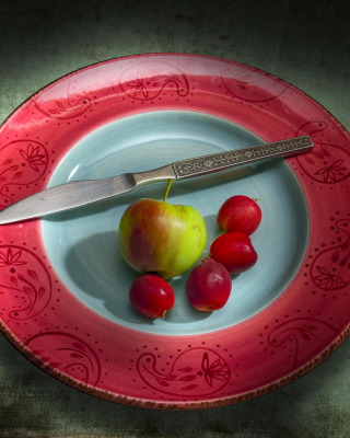 Still life - Vegetarian Breakfast Picture for 240x320