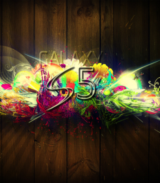 Galaxy S5 Graffiti Wallpaper for Nokia C2-03