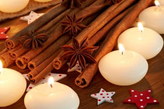 Star Anise And Cinnamon Picture for Android, iPhone and iPad