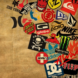 Free Skateboard Logos Picture for LG KP105