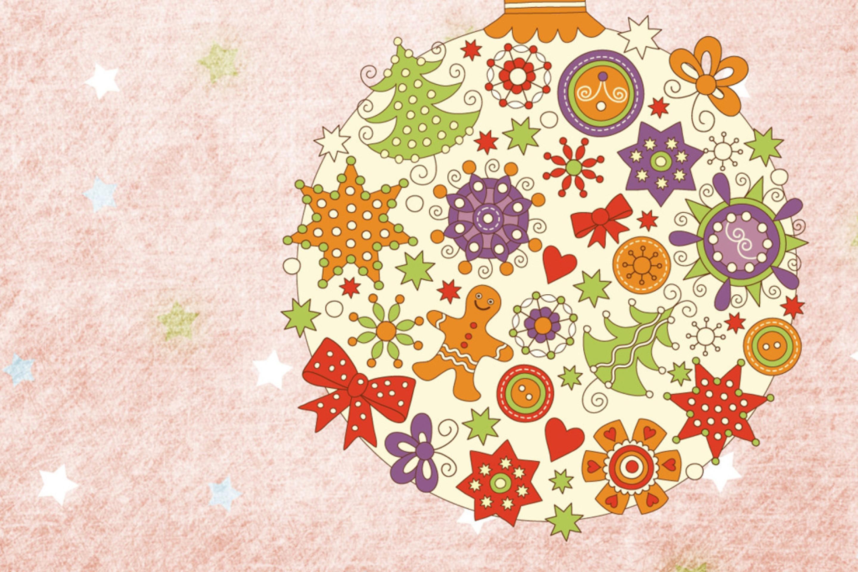 Создать открытку на новый год в иллюстраторе