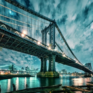 Manhattan Bridge HD Picture for 208x208