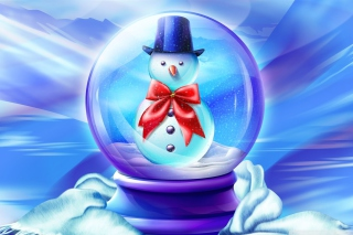 Free Snow Globe Picture for Android, iPhone and iPad