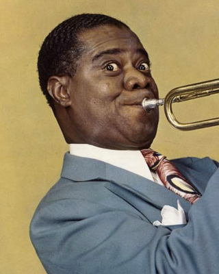 Louis Armstrong, Jazz History Background for HTC Titan