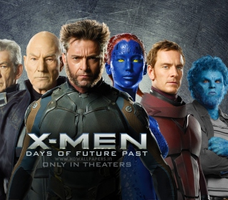 X-Men Days Of Future Past 2014 - Obrázkek zdarma pro iPad mini 2