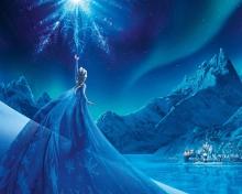 Frozen Elsa Snow Queen Palace para 220x176