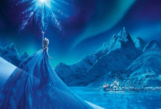 Frozen Elsa Snow Queen Palace Picture for Android, iPhone and iPad