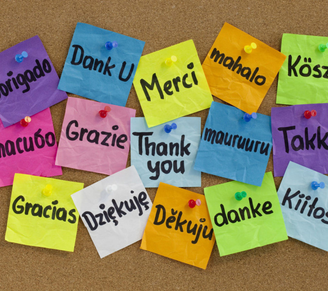 Screenshot №1 pro téma How To Say Thank You in Different Languages 1080x960