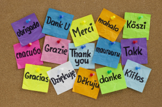 How To Say Thank You in Different Languages Background for Desktop 1280x720 HDTV