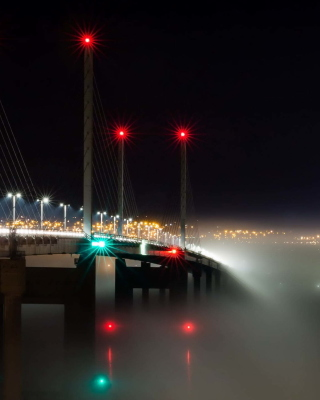 Kessock Bridge in Scotland Background for Nokia C7