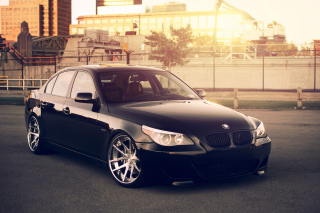 BMW 545i E60 E39 Background for Android, iPhone and iPad