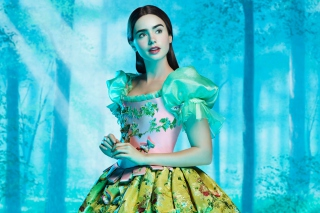 Free Lily Collins As Snow White Picture for Android, iPhone and iPad