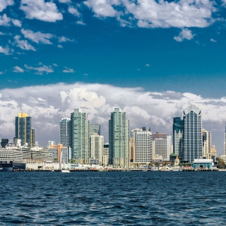 San Diego Skyline Wallpaper for iPad mini