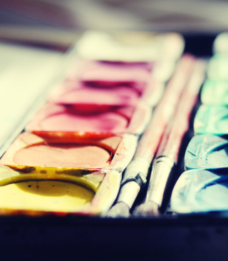 Colorful Paints sfondi gratuiti per iPhone 6 Plus