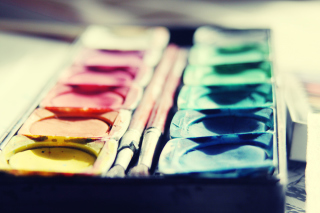 Colorful Paints Background for Android, iPhone and iPad