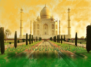 Happy Independence Day in India - Obrázkek zdarma pro Android 1200x1024