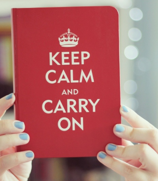 Keep Calm And Carry On Wallpaper for Nokia C1-01