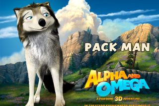 Alpha and Omega - Pack Man Wallpaper for Android, iPhone and iPad