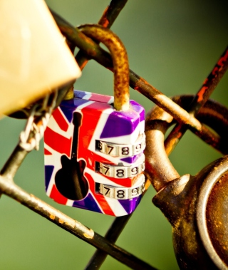 British Lock Wallpaper for Nokia Asha 503