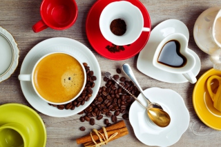 Heartshaped Coffee Cup Picture for Android, iPhone and iPad
