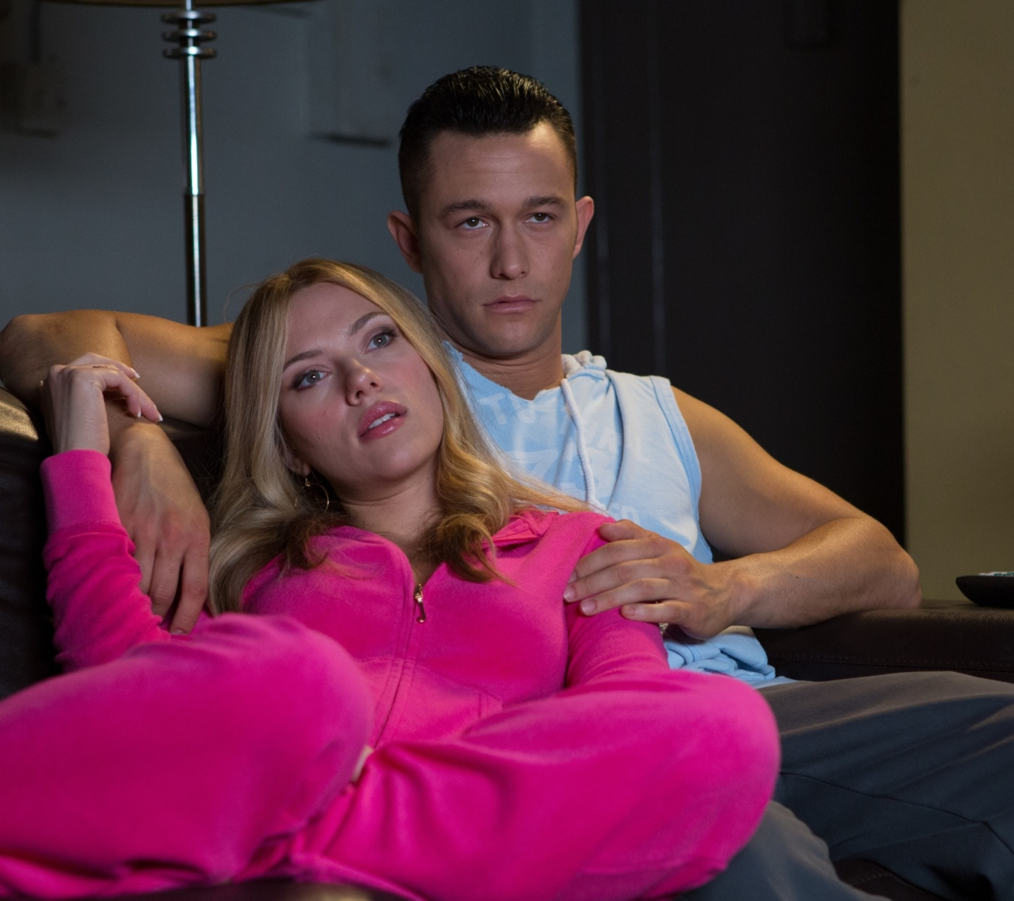 Screenshot №1 pro téma Don Jon Film with Joseph Gordon Levitt and Scarlett Johansson 1440x1280