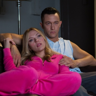 Kostenloses Don Jon Film with Joseph Gordon Levitt and Scarlett Johansson Wallpaper für iPad 2