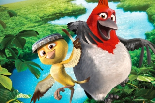 Nico & Pedro In Rio 2 Picture for Android, iPhone and iPad
