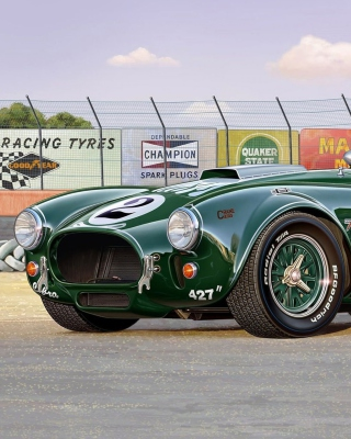 Shelby Cobra 427 Wallpaper for Nokia X2