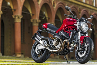 Ducati Monster 821 Background for Android, iPhone and iPad