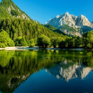 Lake Jasna, Slovenia Picture for iPad mini 2