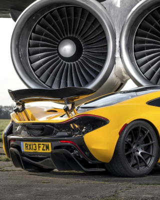 Mclaren P1 Wallpaper for 640x1136