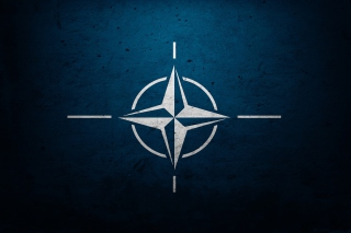 Flag of NATO Background for Android, iPhone and iPad