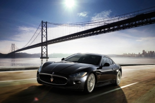Maserati Granturismo Background for Android, iPhone and iPad
