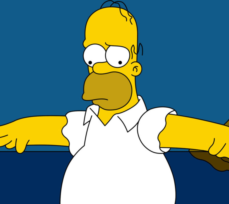Гомер симпсон картинка из фотографий