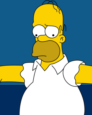 Homer Simpson sfondi gratuiti per iPhone 6 Plus