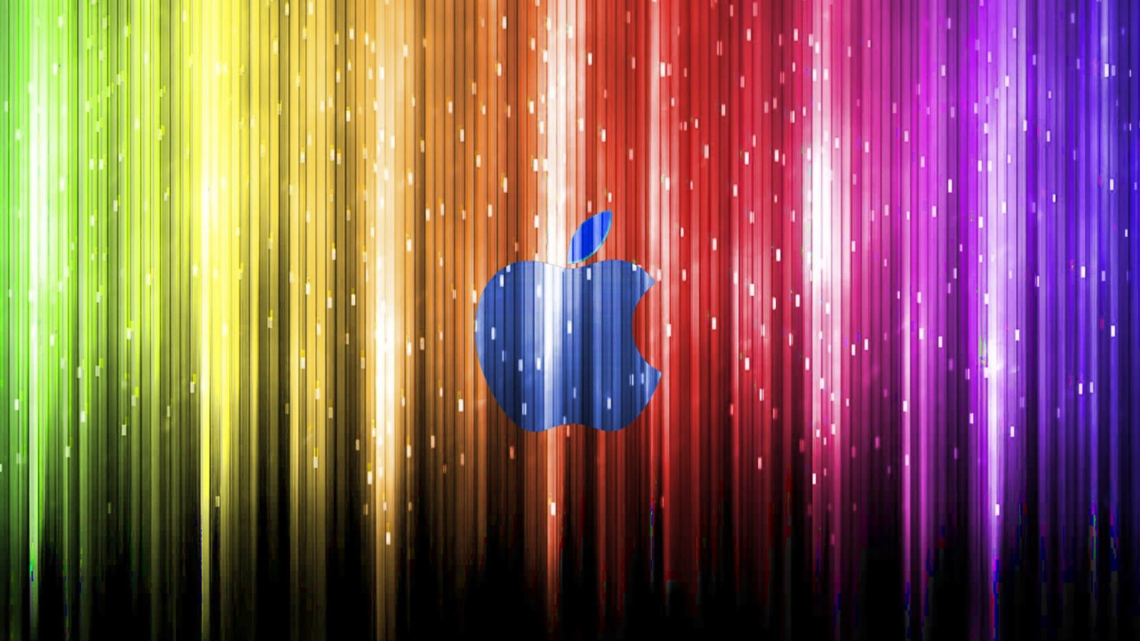 Sparkling Apple Logo screenshot #1 1600x900