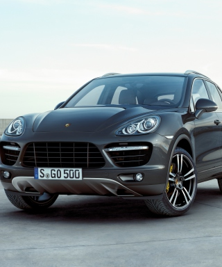 Porsche Cayenne Turbo sfondi gratuiti per iPhone 6 Plus