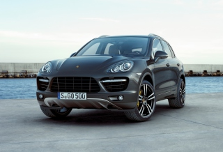 Porsche Cayenne Turbo Picture for Android, iPhone and iPad