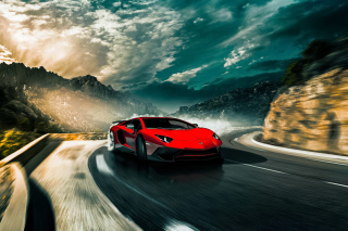 2016 Lamborghini Aventador SV LP750 4 Wallpaper for Android, iPhone and iPad