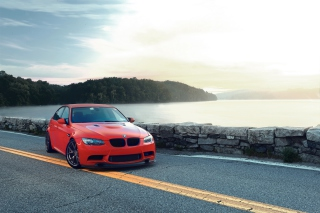 Red BMW Background for Android, iPhone and iPad