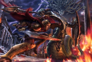 Hero Of Sparta sfondi gratuiti per HTC Desire HD
