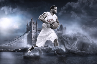 Deron Williams, Basketball, Olympics, London - Obrázkek zdarma pro HTC Wildfire