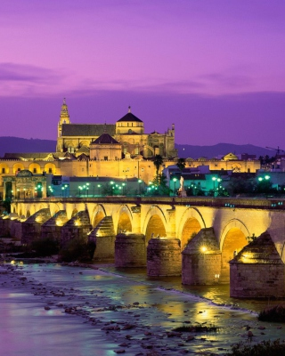 Roman Bridge - Guadalquivir River Wallpaper for Nokia C7