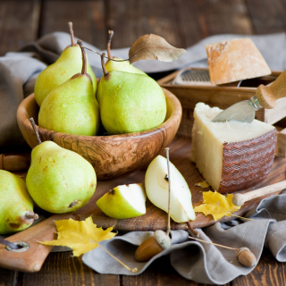 Pears And Cheese - Fondos de pantalla gratis para 1024x1024