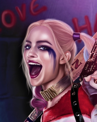 Suicide Squad, Harley Quinn, Margot Robbie Picture for Nokia C1-01