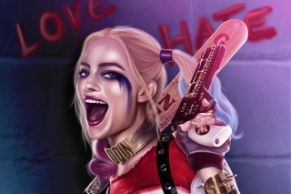Suicide Squad, Harley Quinn, Margot Robbie Background for Android, iPhone and iPad