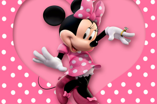 Minnie Mouse Polka Dot Background for 640x480